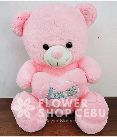 18 inches Teddy Bear (Pink)