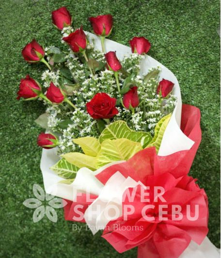 1 Dozen Red Roses (Arm Bouquet)