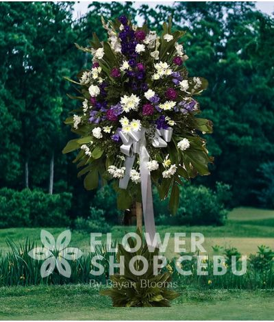 Funeral Flower Standee 3